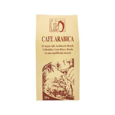 paquete de cafe arabica calidad gourmet marca ó