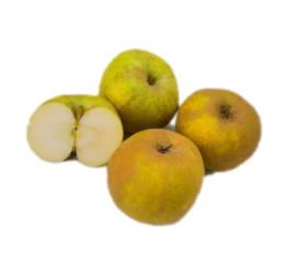 3 manzanas reineta una partida por la mitad