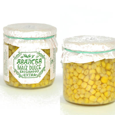 Maiz en grano natural bote gourmet