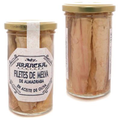 Filetes de Melva en tarro de cristal Aracha