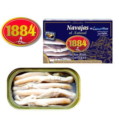Navajas de las rias gallegas 1884