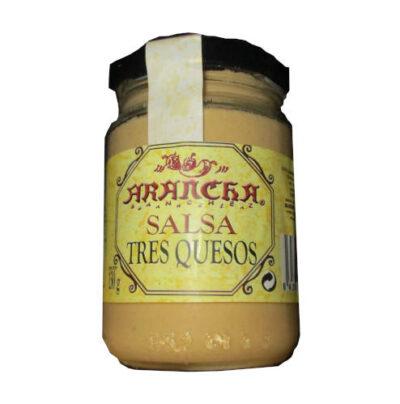 Tarro de Salsa de tres quesos Arancha