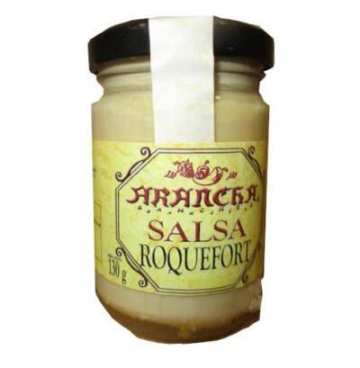 Bote de salsa roquefort marca arancha