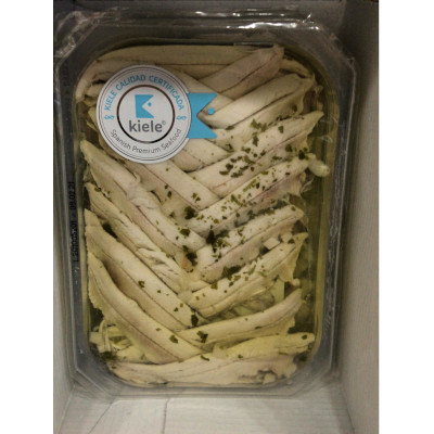 boquerones en vinagre envasados de la marca kiele