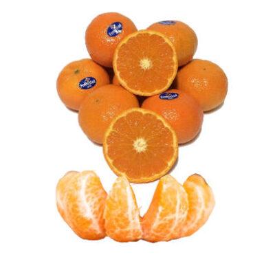 mndarinas orri enteras y gajos de mandarina orri