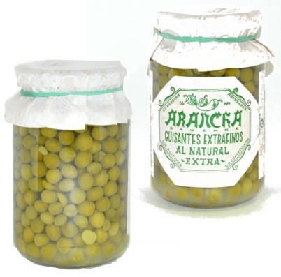 bote de guisantes al natural Arancha