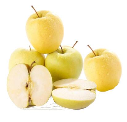 manzanas verde doncella enteras y otra manzana verdedoncella abierta a la mitad