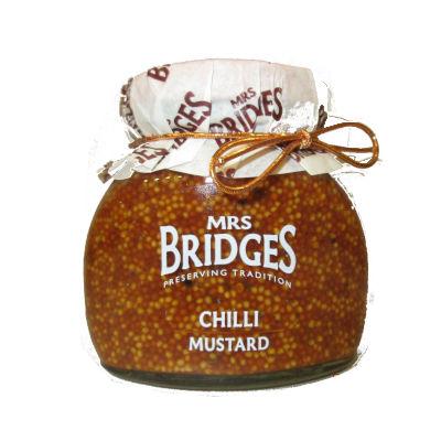 Tarro de cristal de mostaza chili de Mrs bridge