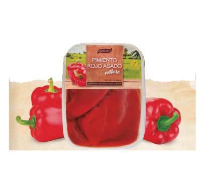 pimiento asado, pimientos rojos enteros asados de la marca surinver