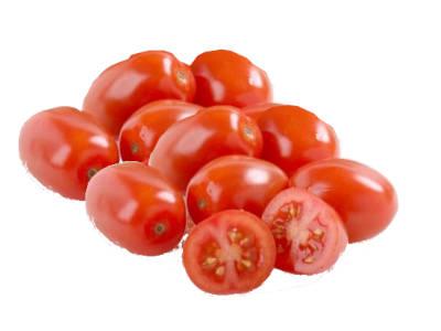 Tomates cherry variedad pera