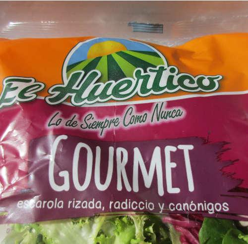 Bolsa de ensalada gourmet marca el huertico