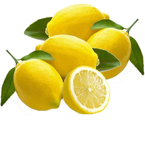 varios limones enteros y un limon partido a la mita donde se ve su interior