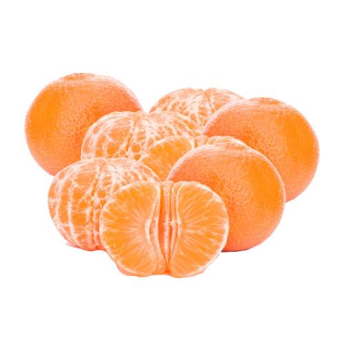varias mandarinas orri naturales, peladas y otra a la mitad