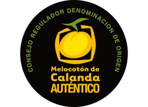 Logotipo Denominacion de Origen Melocoton de Calanda.